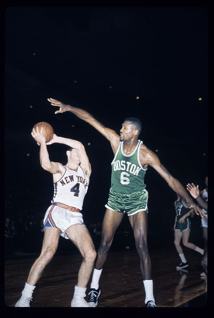Bill Russell, Boston Celtics center