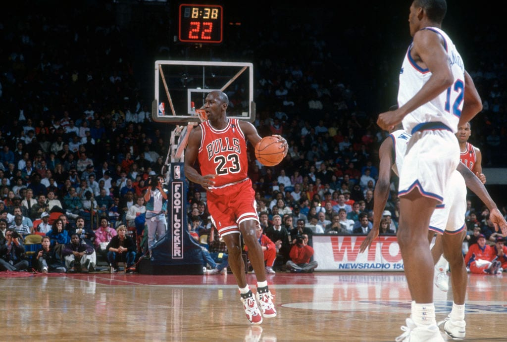 Michael Jordan, Chicago Bulls point guard