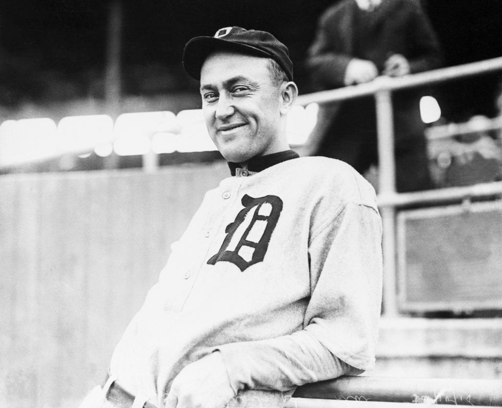 ty cobb detroit tigers