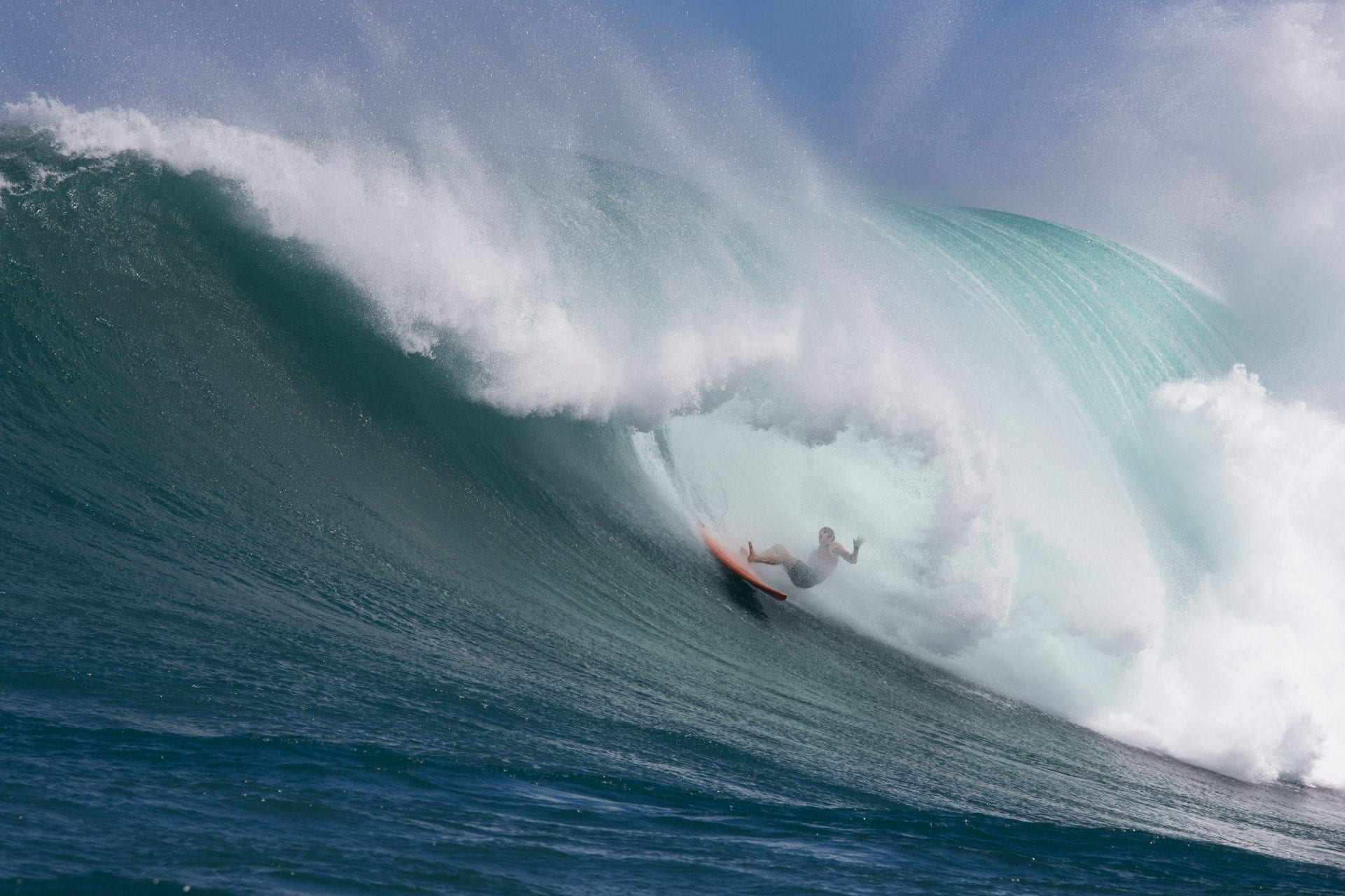 big wave surfing, hawaii