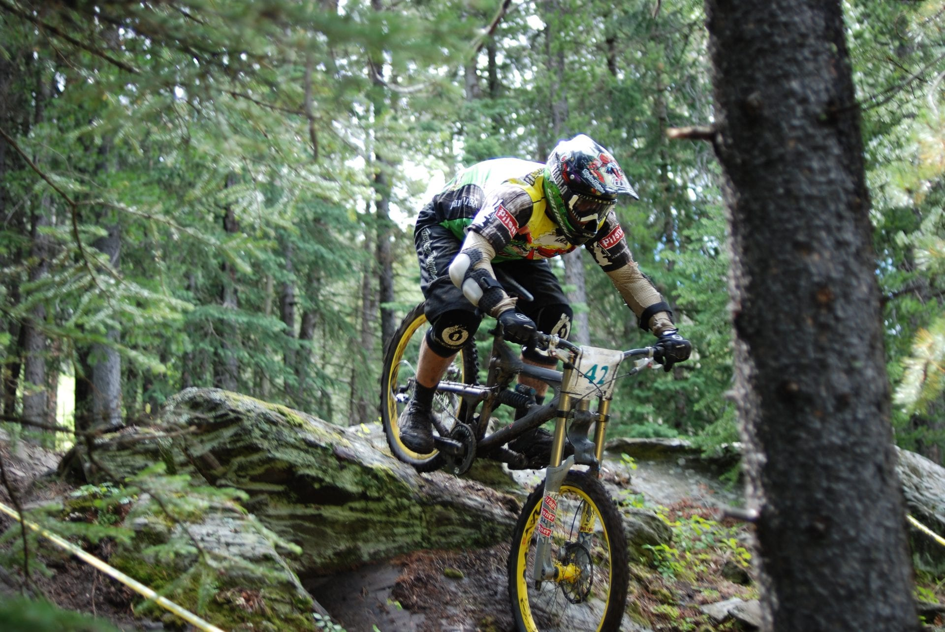 mountain biking, red bull