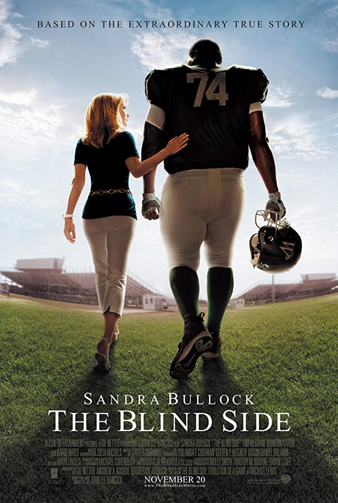 "Sandra Bullock was the title actress for ""The Blind Side"""