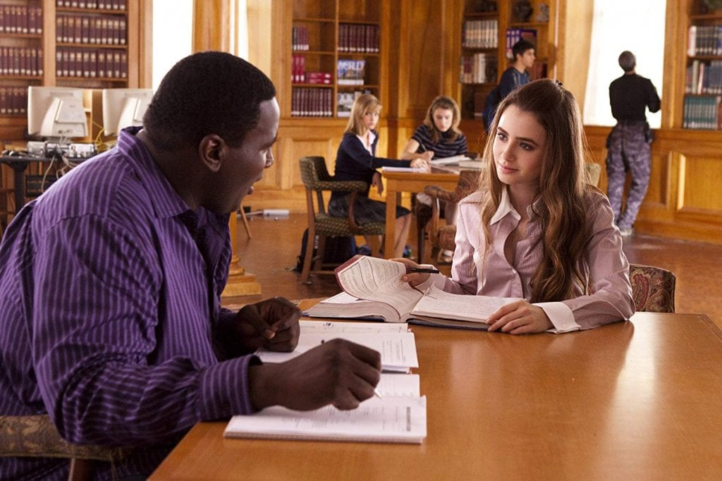 "High school student Michael Oher in ""The Blind Side"""
