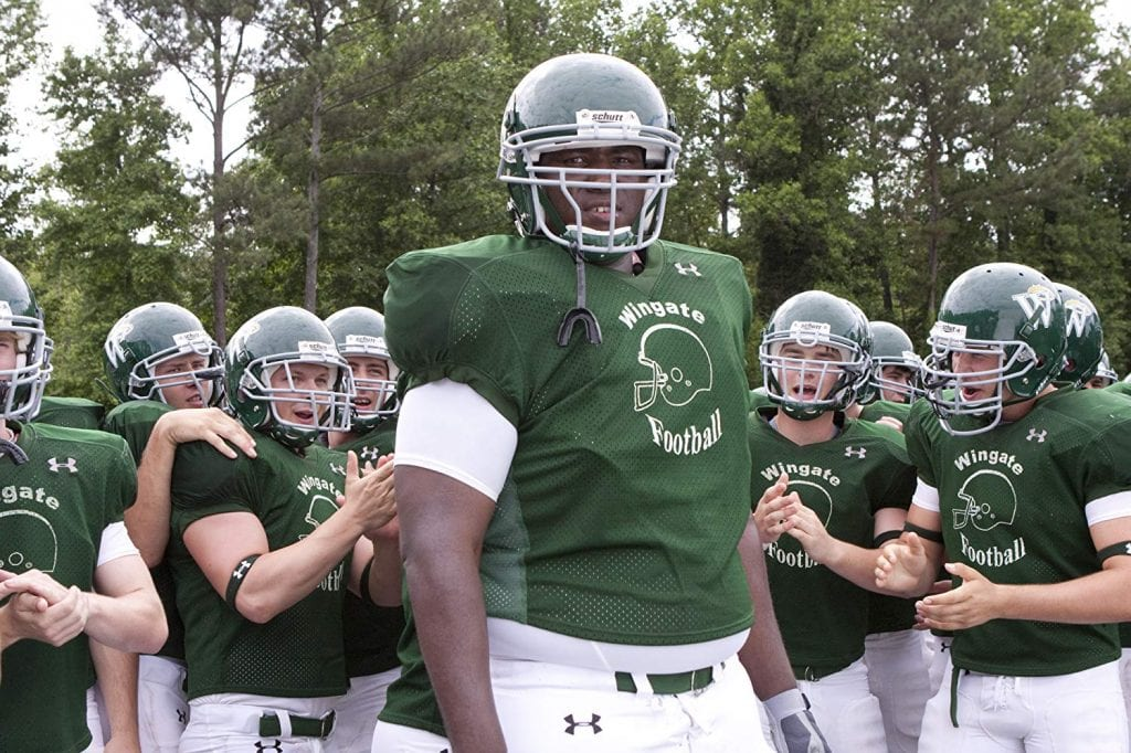 "Quinton Aaron as Michael Oher in ""The Blind Side"""