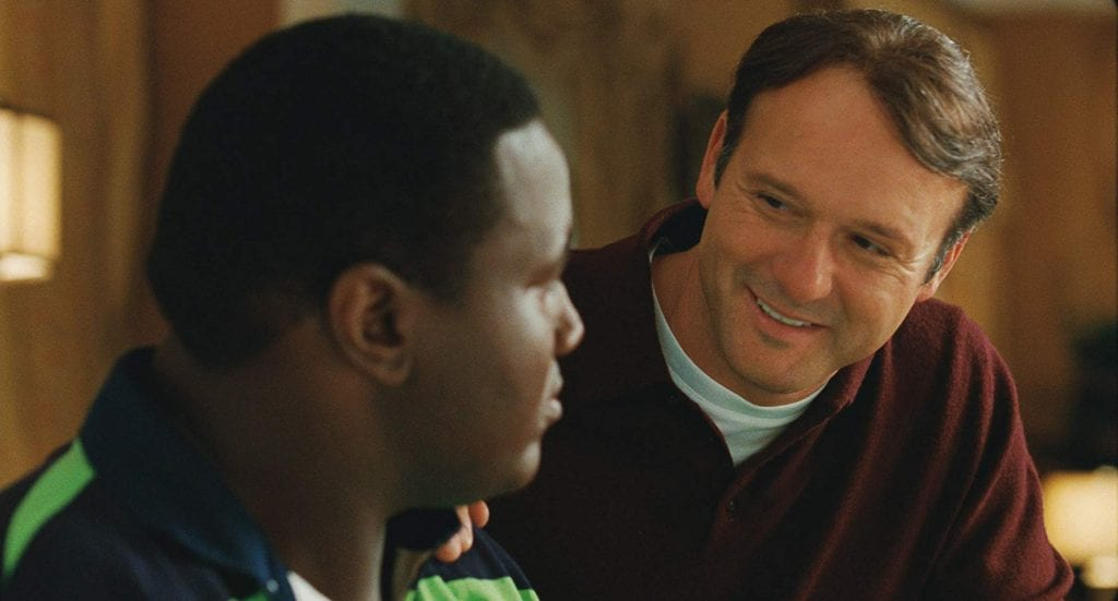 "Sean Tuohy in ""The Blind Side"""