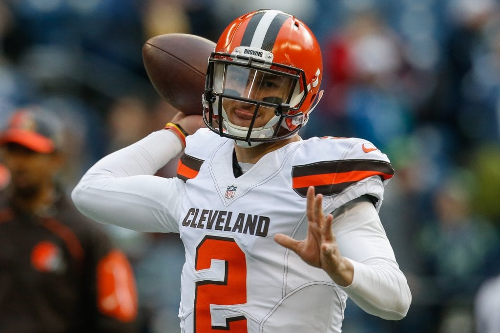 johnny manziel cleveland browns