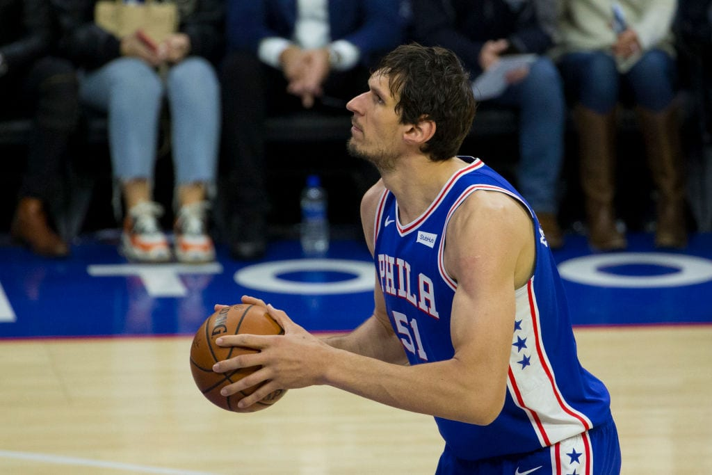 Boban Marjanovic, Philadelphia 76ers center
