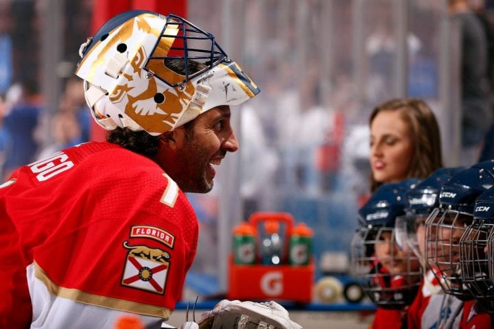 Luongo Hangs Up The Pads After Record Setting Nhl Career Tie Breaker