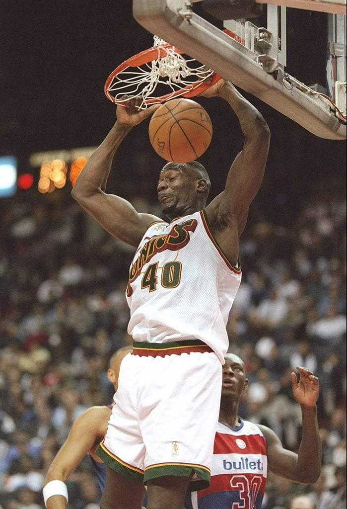 Shawn Kemp, Seattle Sonics