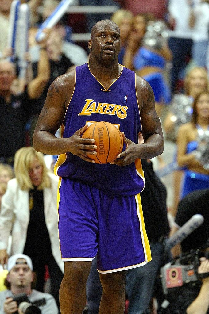 Shaquille O'Neal, Los Angeles Lakers center