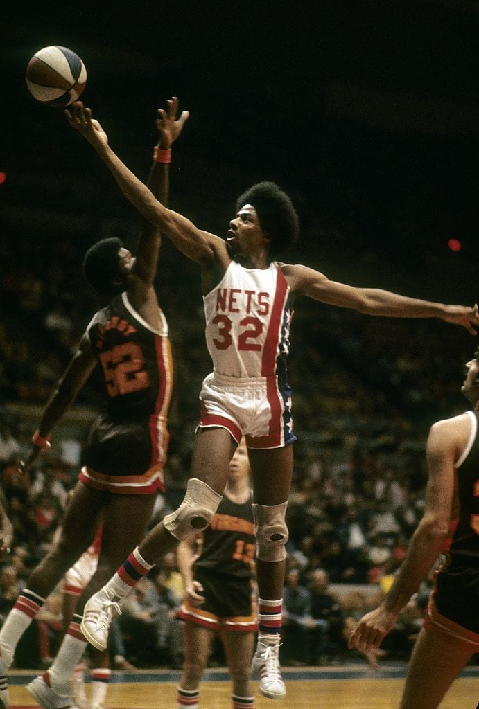 Julius Erving, New York Nets forward