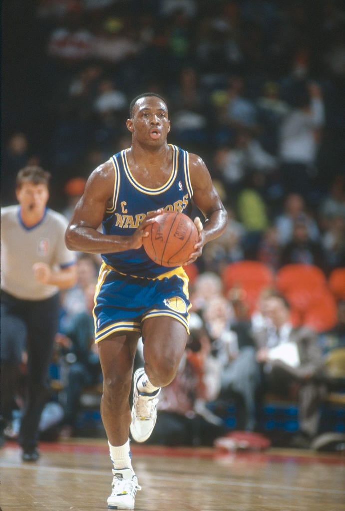 Mitch Richmond, Golden State Warriors