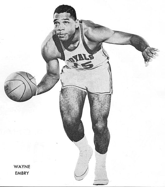 Wayne Embry, Cincinnati Royals center