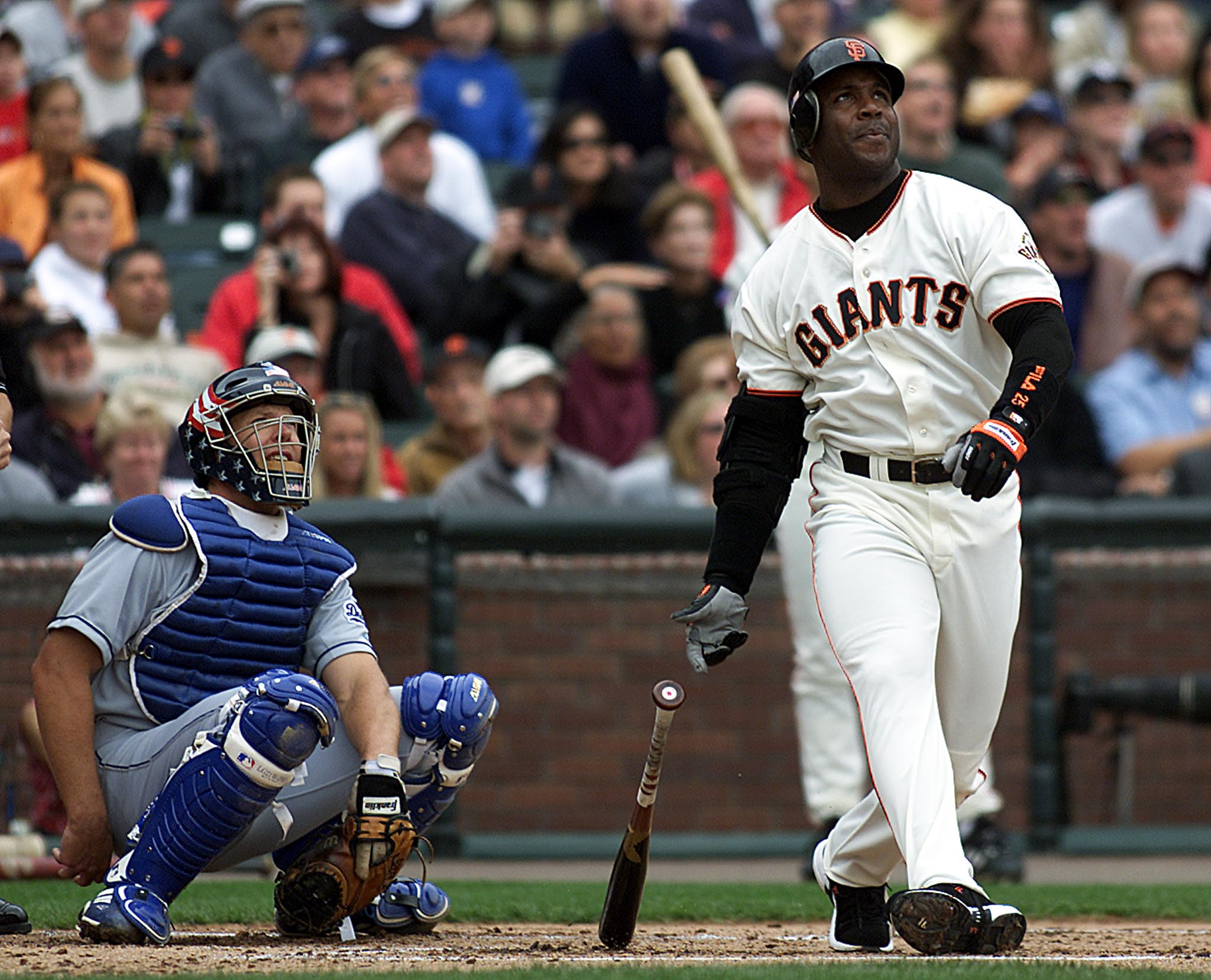Barry Bonds single-season home run record, san Francisco Giants