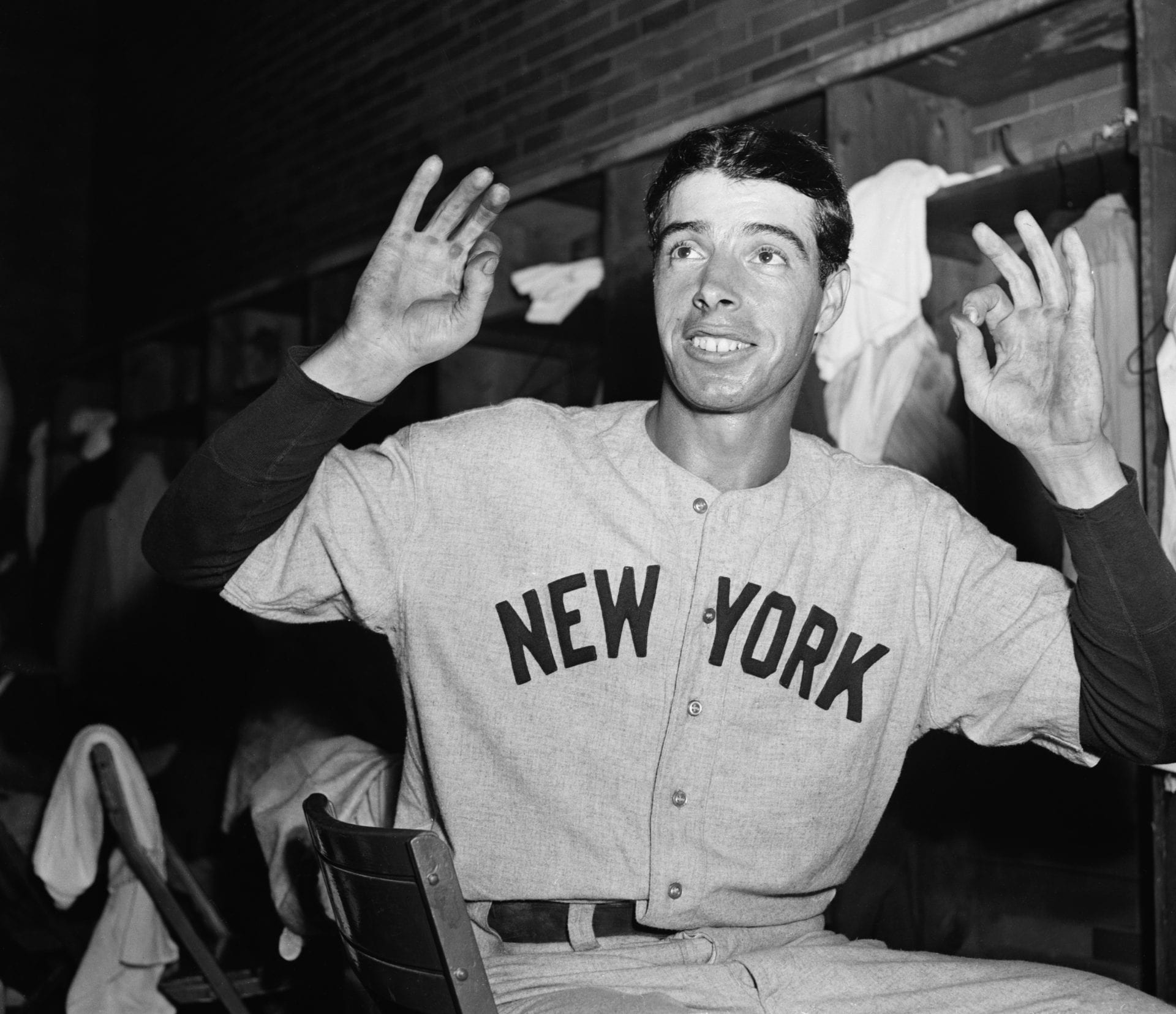 Joe DiMaggio, New York Yankees, hitting streak