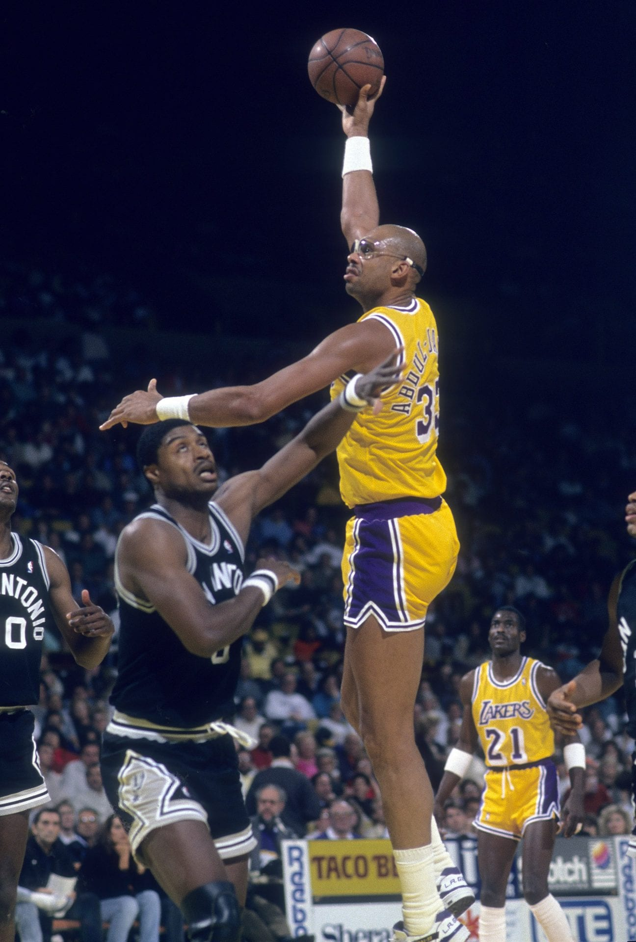 Kareem Abdul-Jabbar, Los Angeles Lakers, NBA