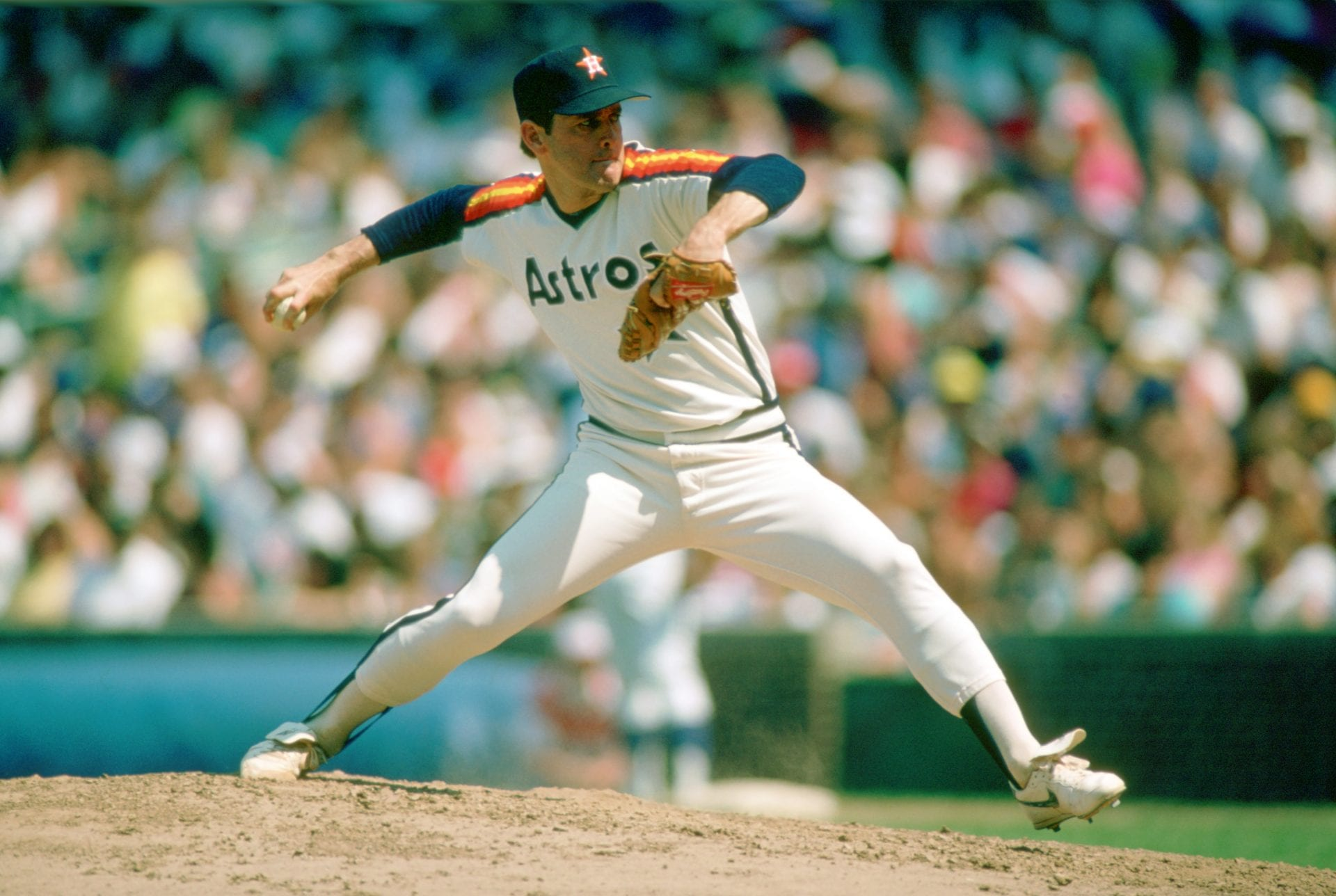 Nolan Ryan career strikeout leader, Houston Astros