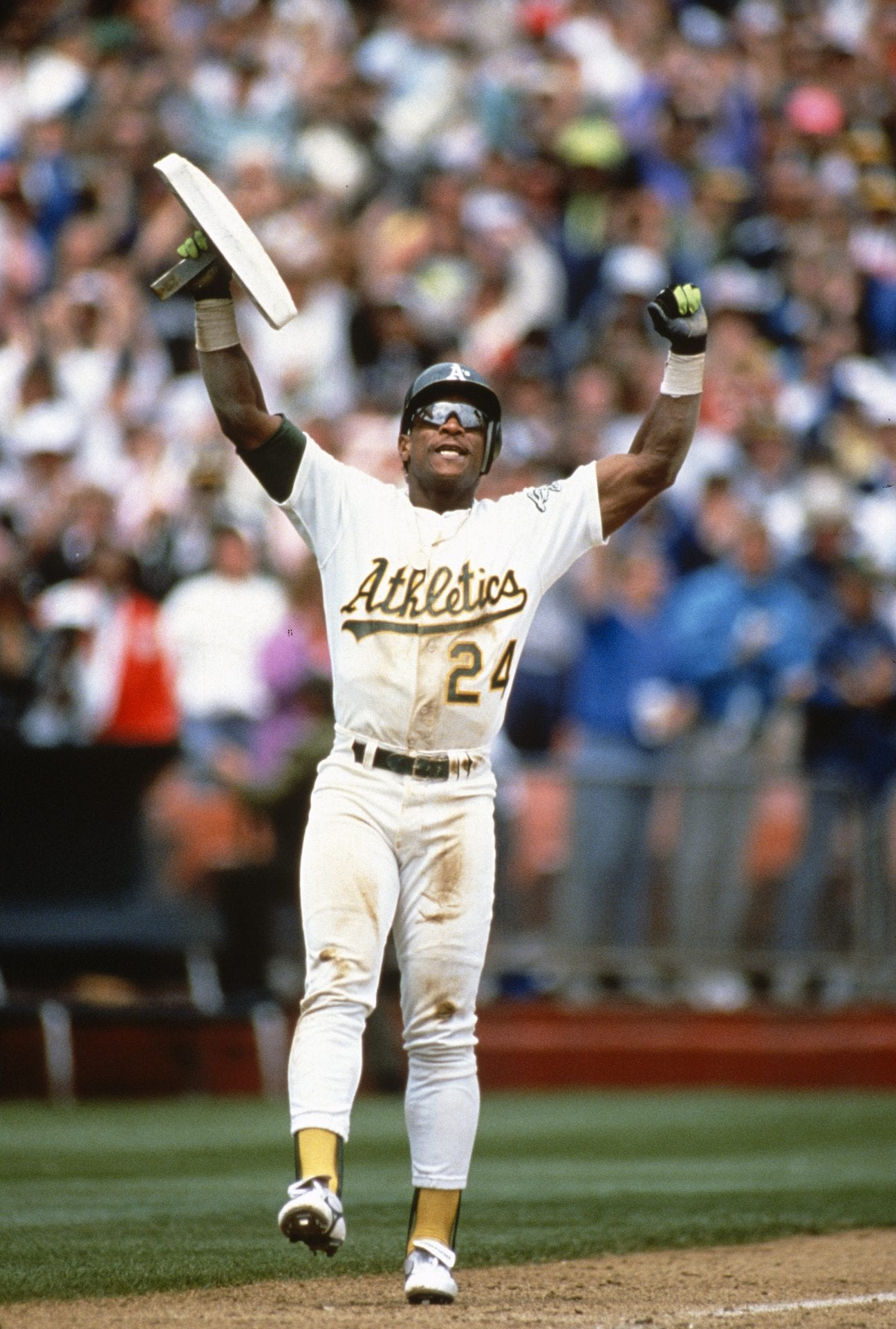 Rickey Henderson, Oakland Athletics, base stealing