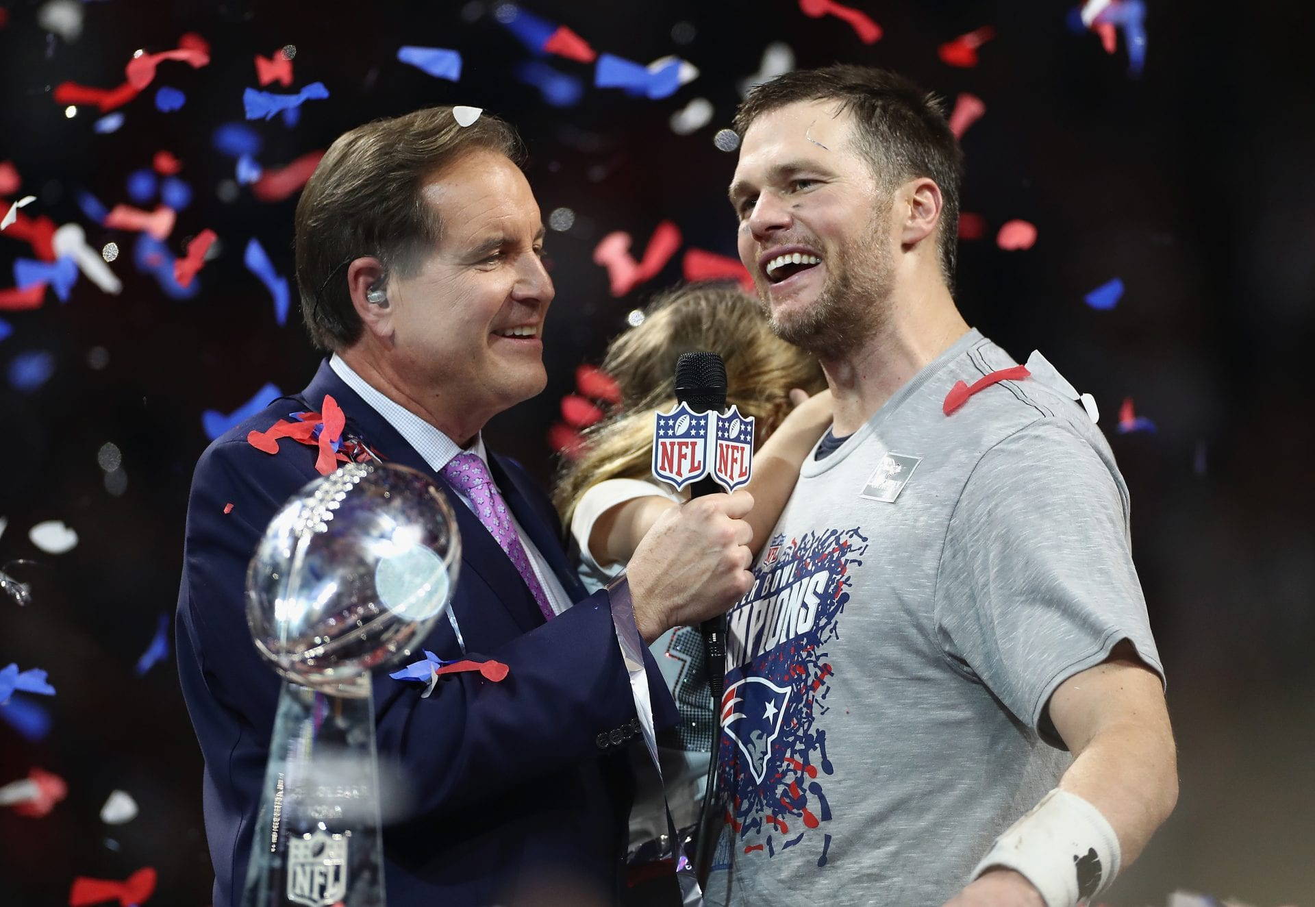Tom Brady, Super Bowl LIII, New England Patriots