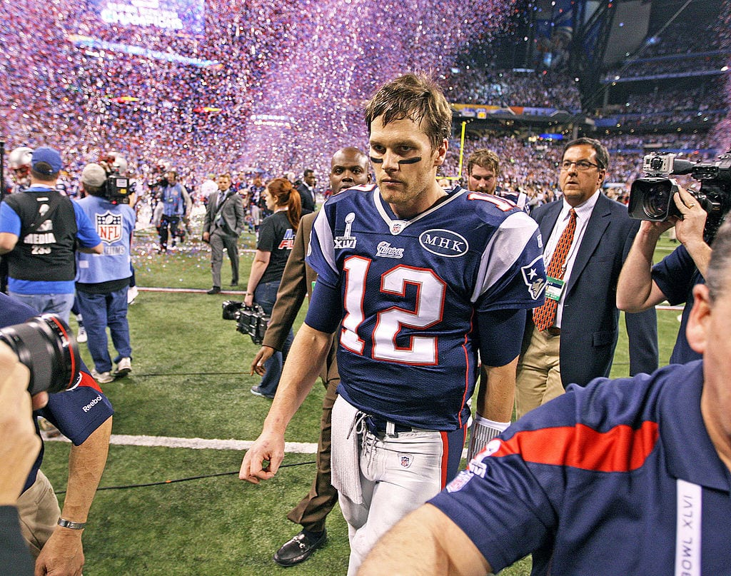 Tom Brady Super Bowl loss to the Giants