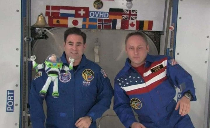 Buzz Lightyear weird things sent to space