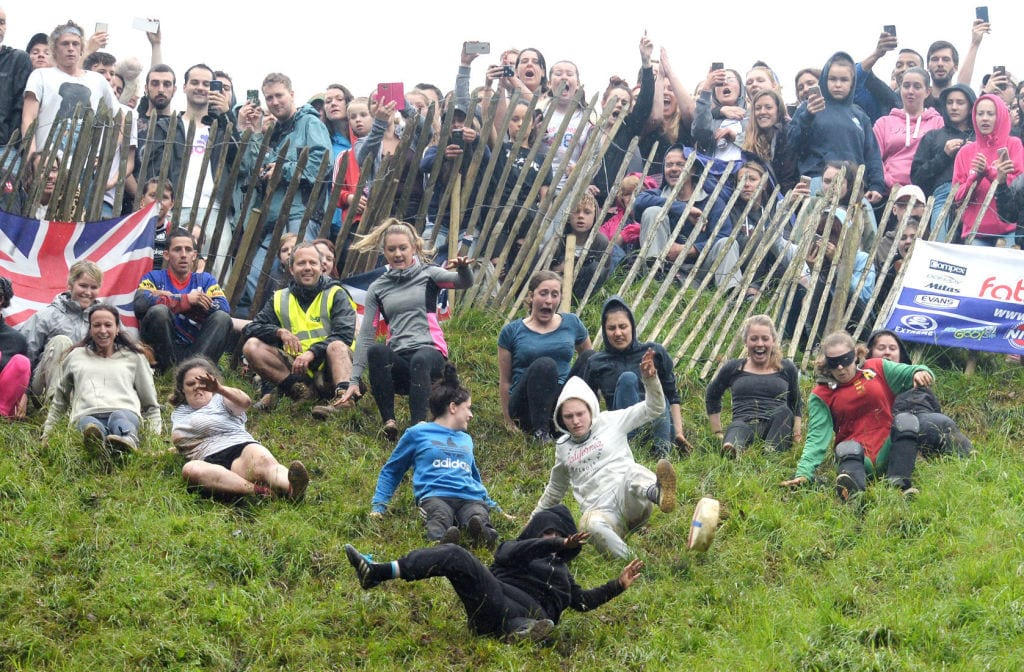 cheese rolling england
