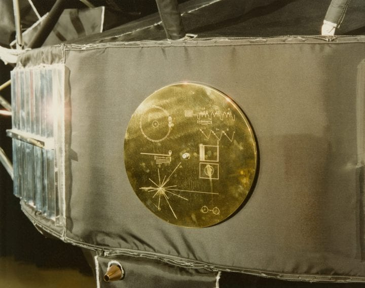 Golden record sounds of earth weird things sent to space
