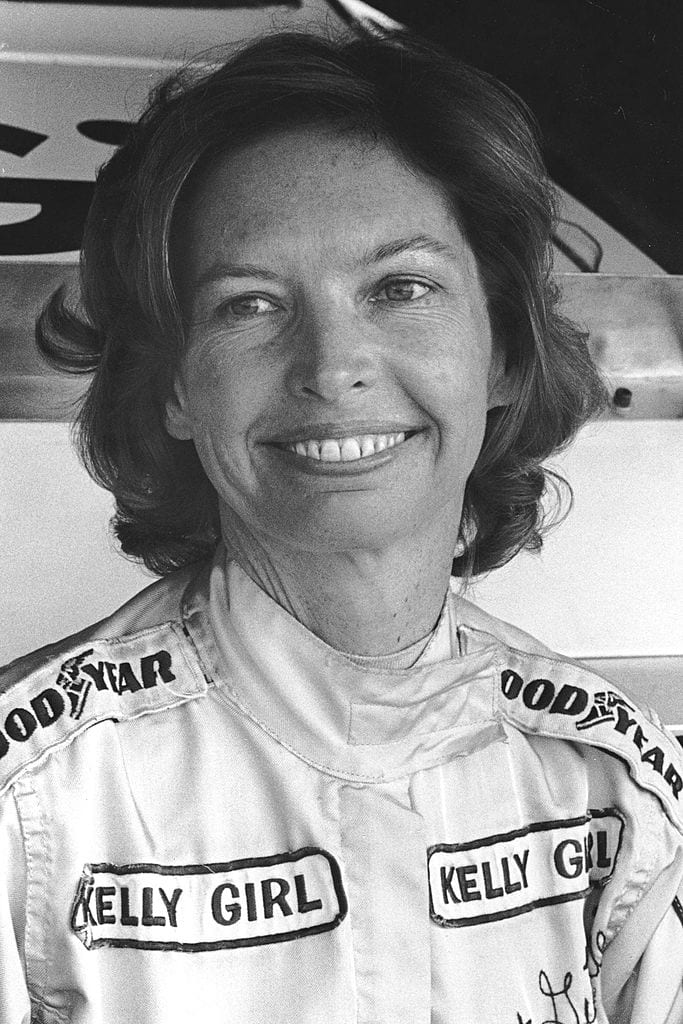 Janet Guthrie racing