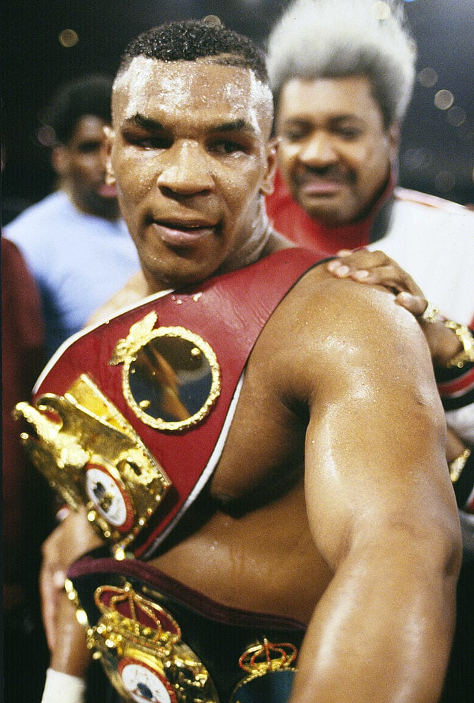 Mike Tyson boxing champion