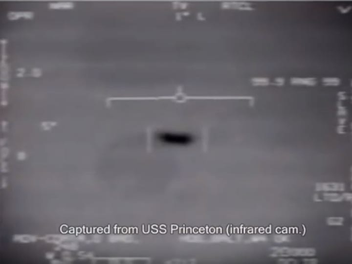 USS Princeton, UFO sighting, fighter jet