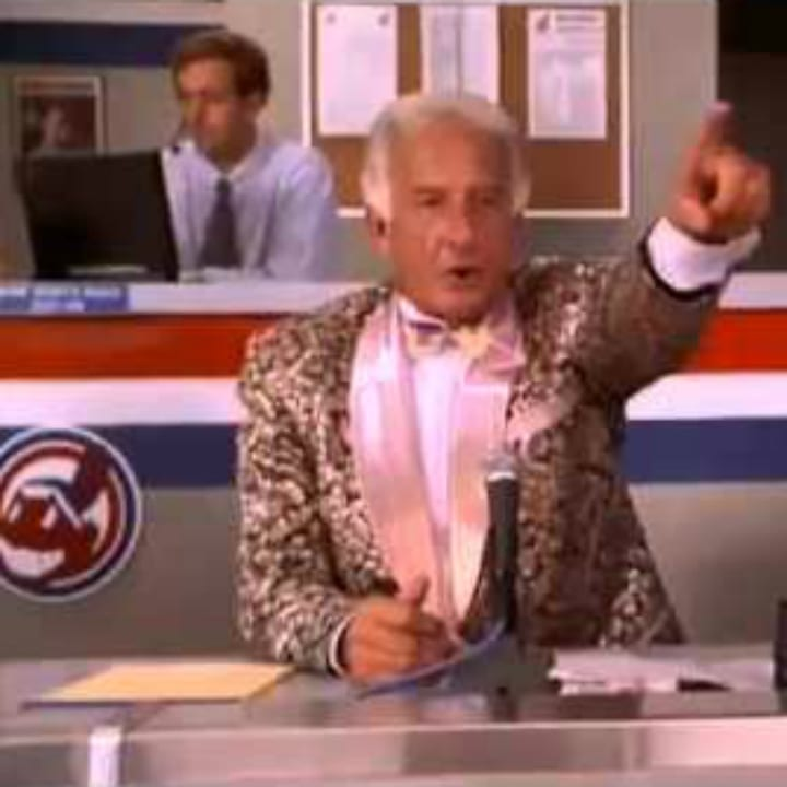 Bob Uecker in Major League