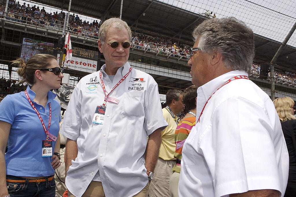david letterman indycar racing
