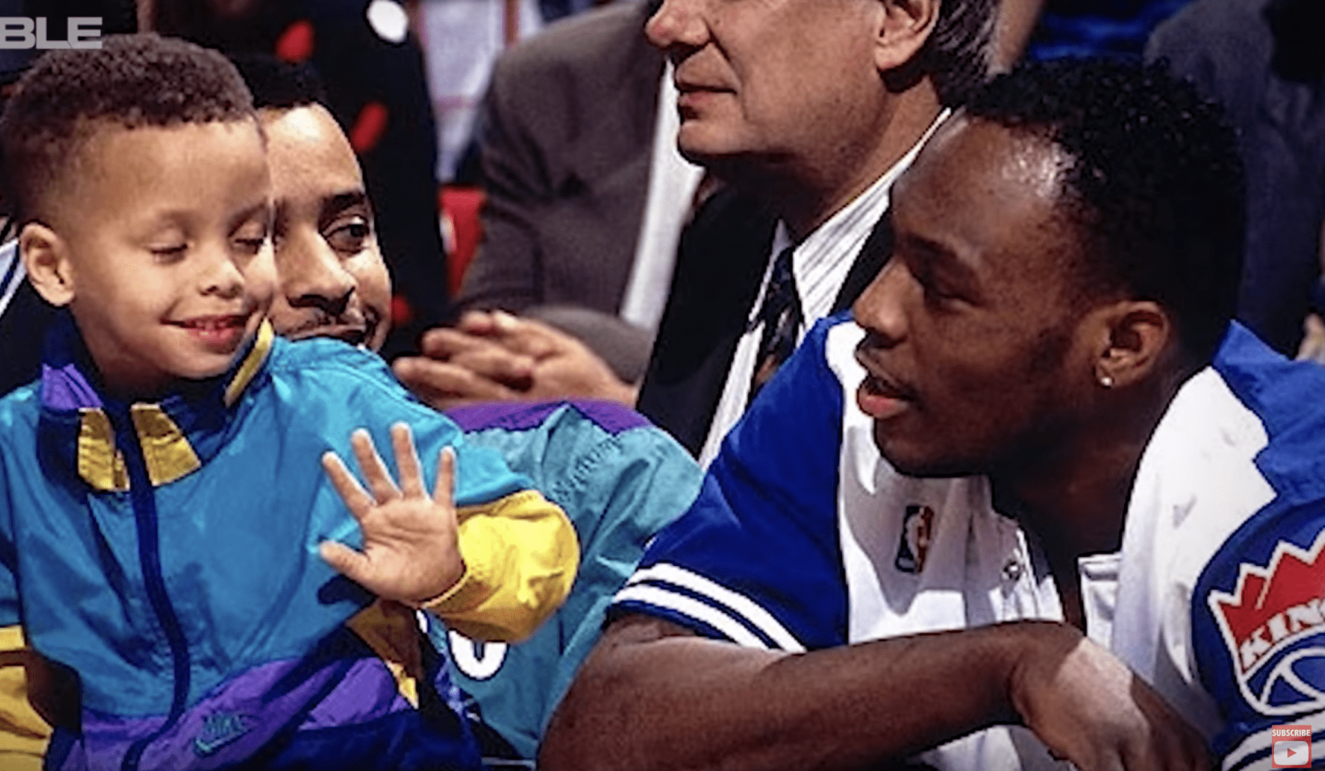 seph and dell curry together