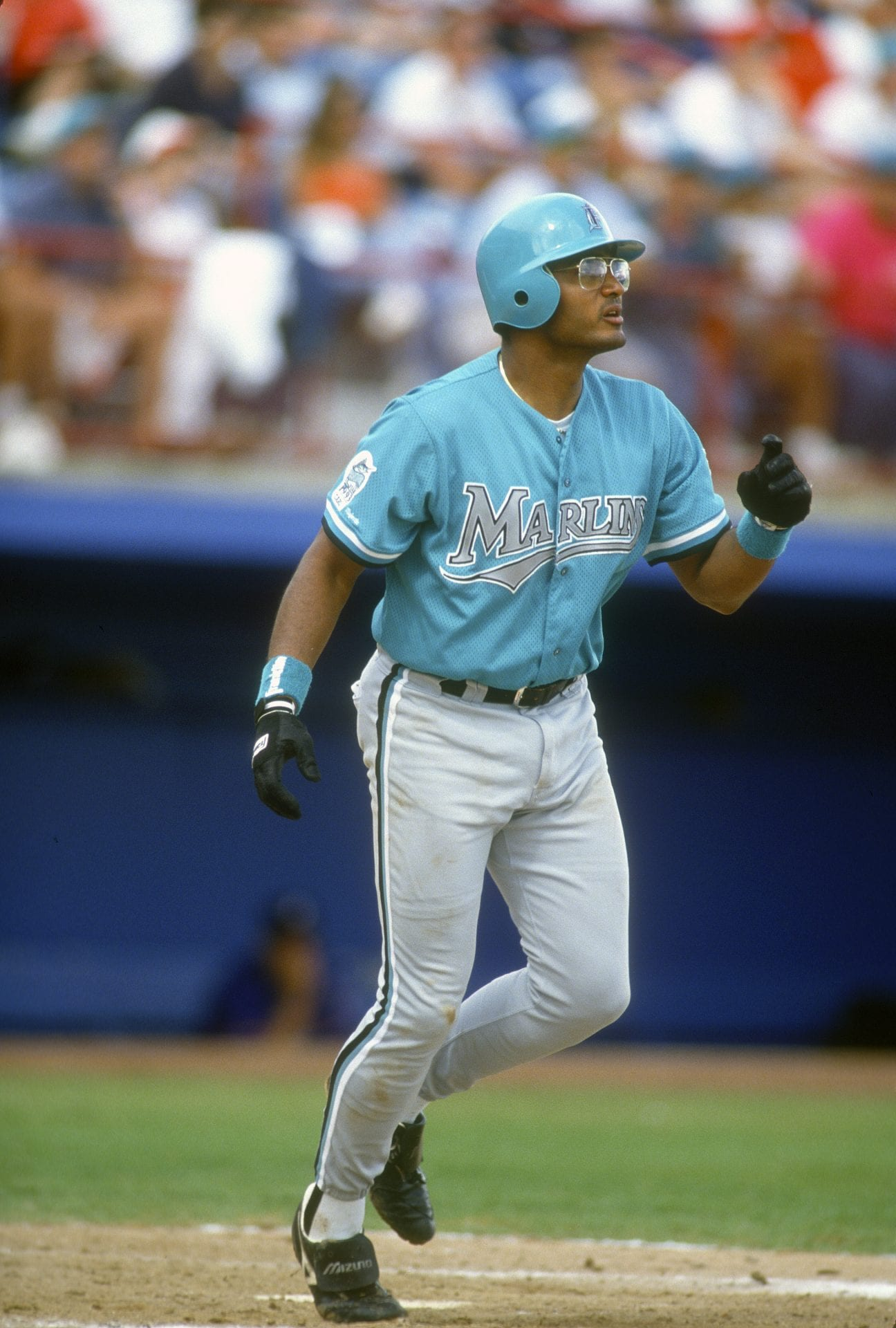 Miami Marlins teal uniforms early 1990s