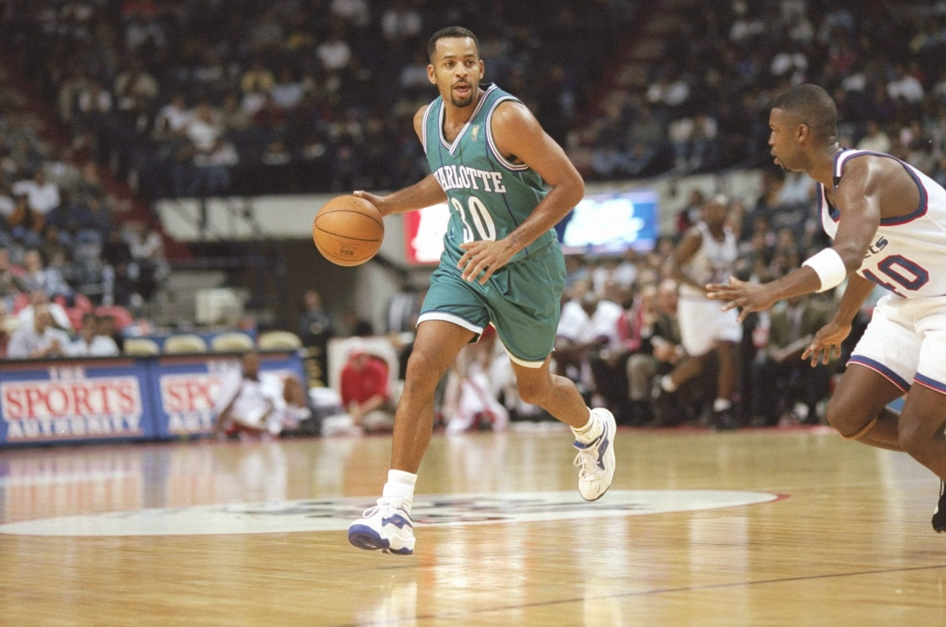 Dell Curry Charlotte Hornets