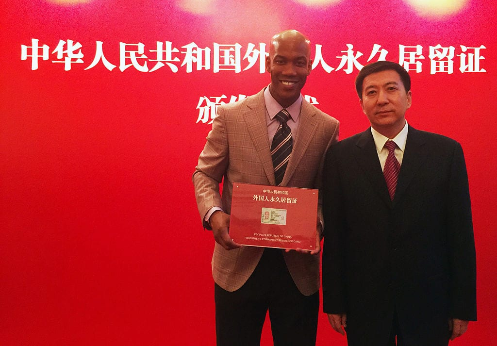 Stephon Marbury Chinese citizen