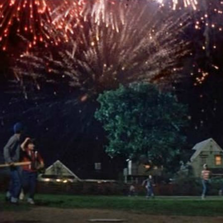"""The Sandlot"" fireworks scene"