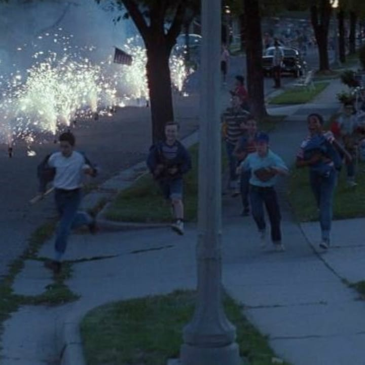 """The Sandlot"" fireworks"