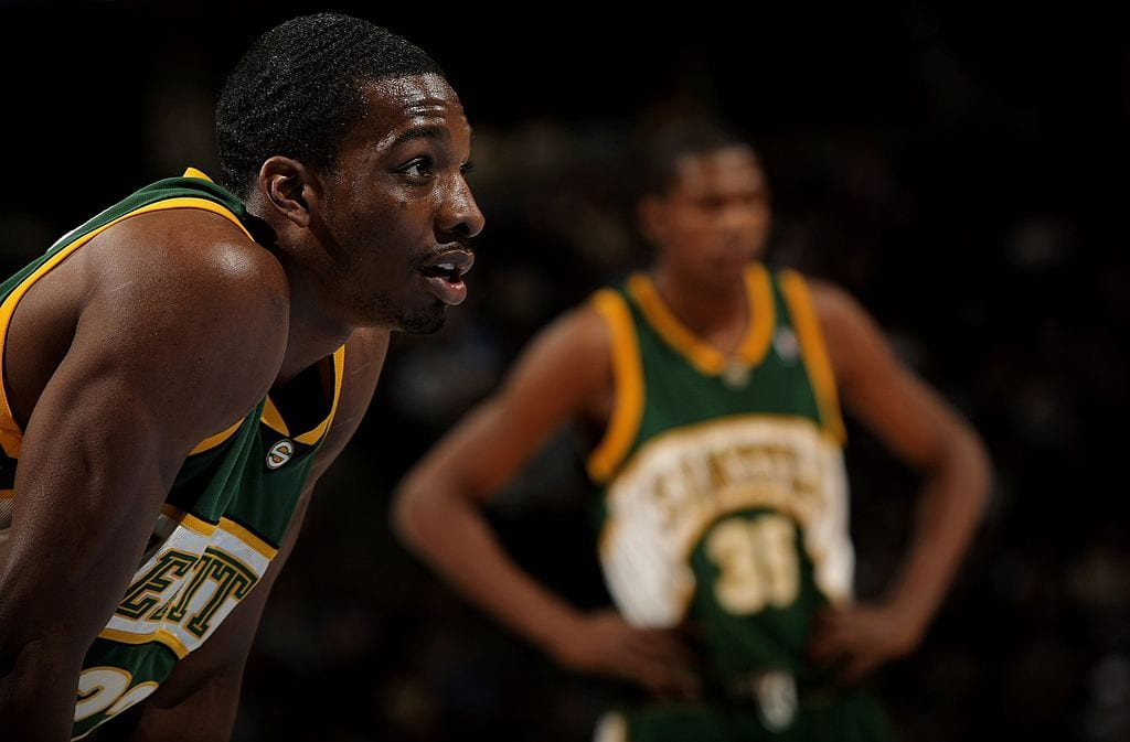 Jeff Green Seattle SuperSonics