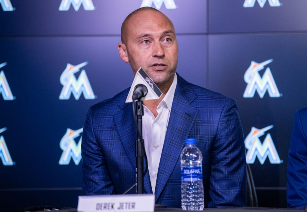 derek jeter miami marlins
