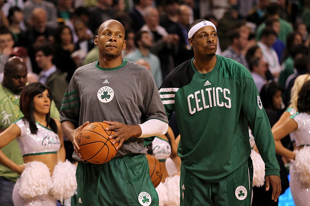 Ray Allen Boston Celtics