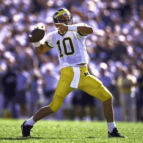 Tom Brady Michigan quarterback