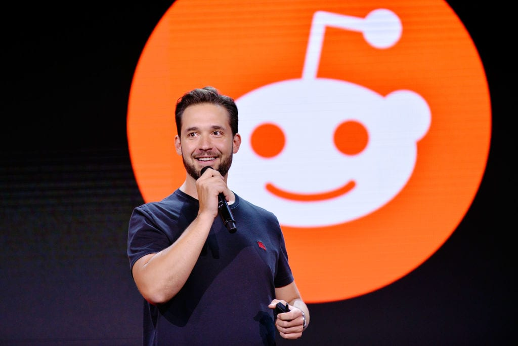 Reddit Alexis Ohanian attends WORLDZ Cultural Marketing Summit 2017 at Hollywood and Highland