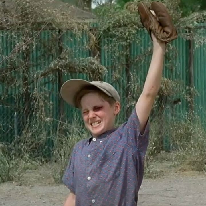 "Scotty Smalls in ""The Sandlot"""