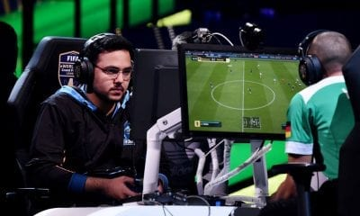 Mosaad Aldossary (Msdossary) of Saudi Arabia in action in the FIFA eWorld Cup Final