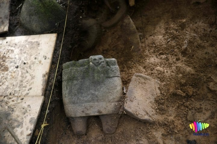 Archaeology artifact white city lost city of the monkey god