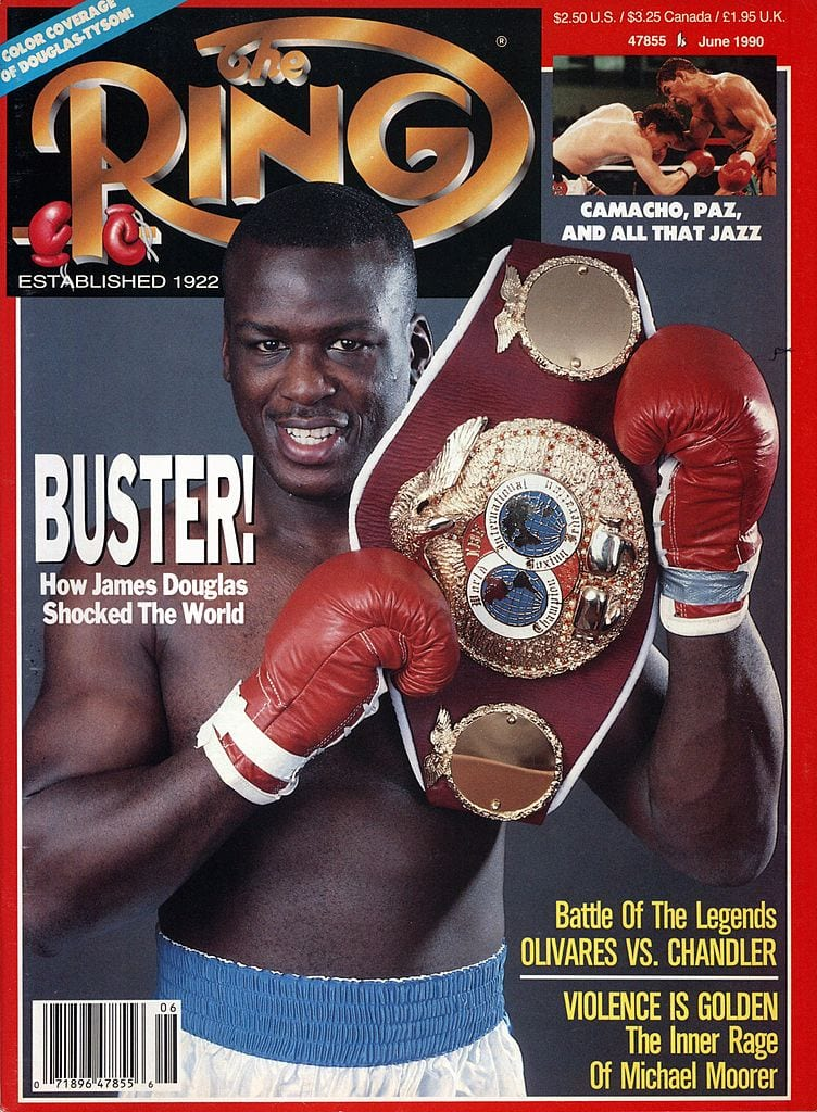 buster douglas mike tyson boxing one-hit wonders