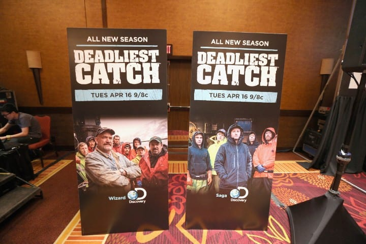 Deadliest Catch promotional cutouts