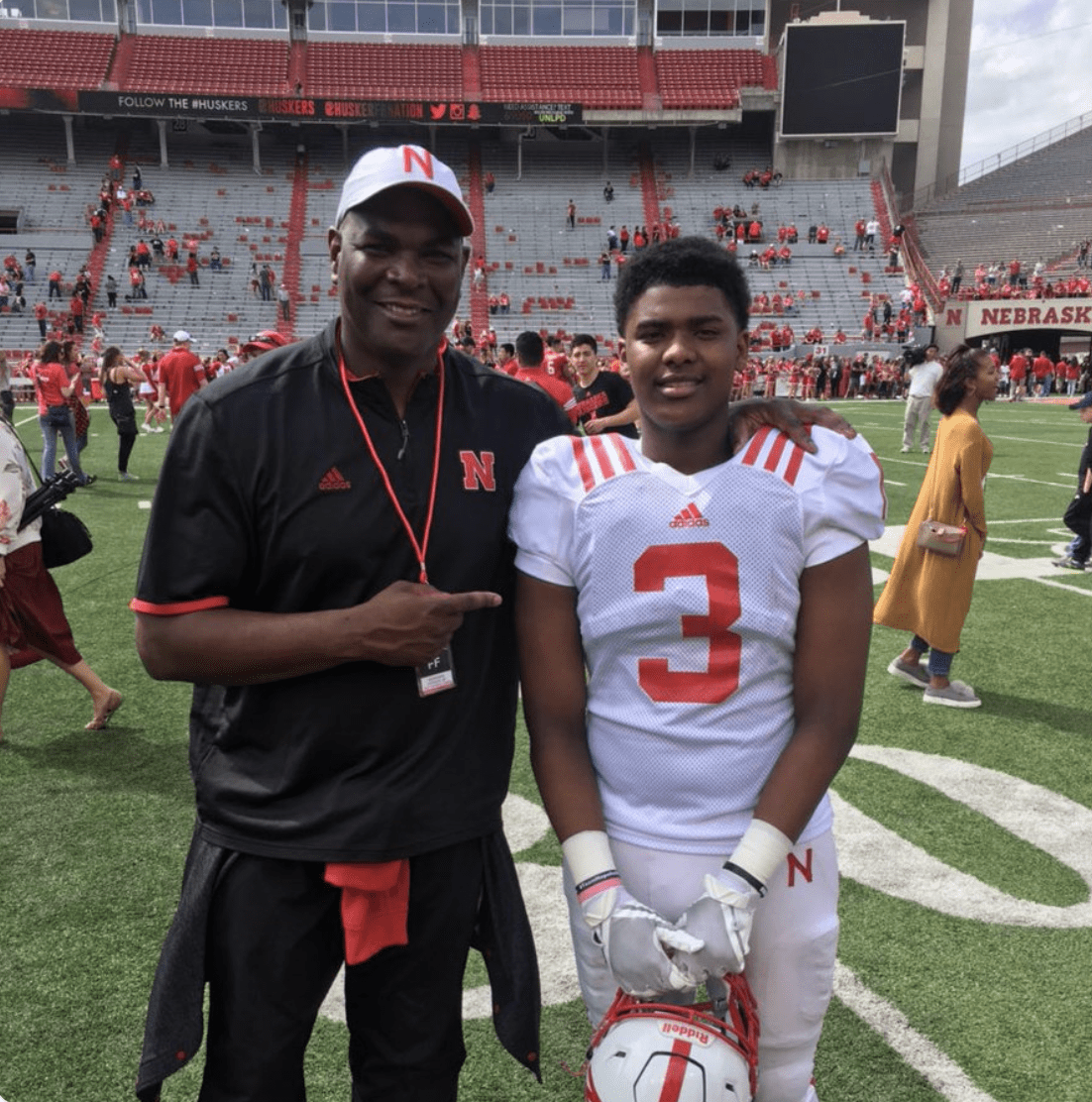 keyshawn johnson and son