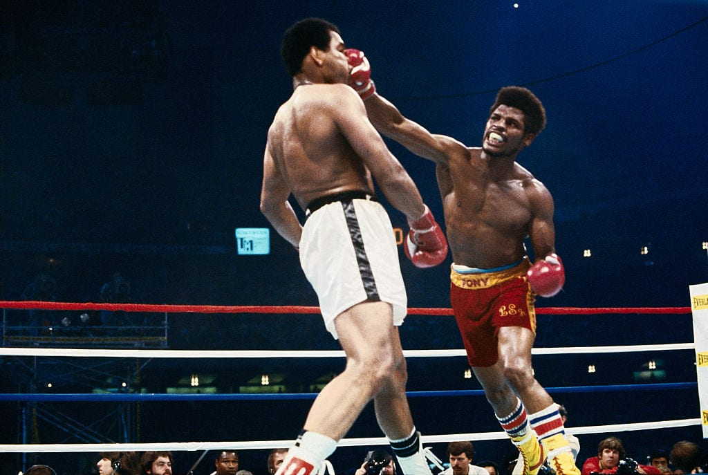 Leon Spinks vs. Muhammad Ali